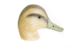 Black Duck Decoy Heads