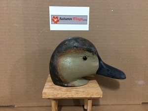 Gadwall Decoy Heads