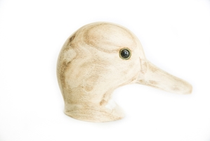 Green Winged Teal Decoy Heads - HD-105-DP