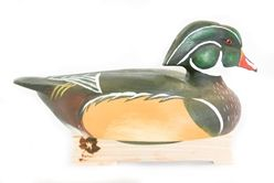 Wooden Wood Duck - DC-Woodduck